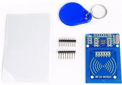 RFID Reader Module RC522 Mifare IC Cards para Arduino Raspberry Pi ...