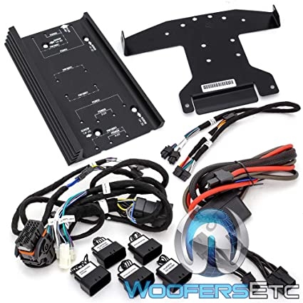 Amazon.com: Rockford Fosgate RFK-HD14 amp Install kit for ... on