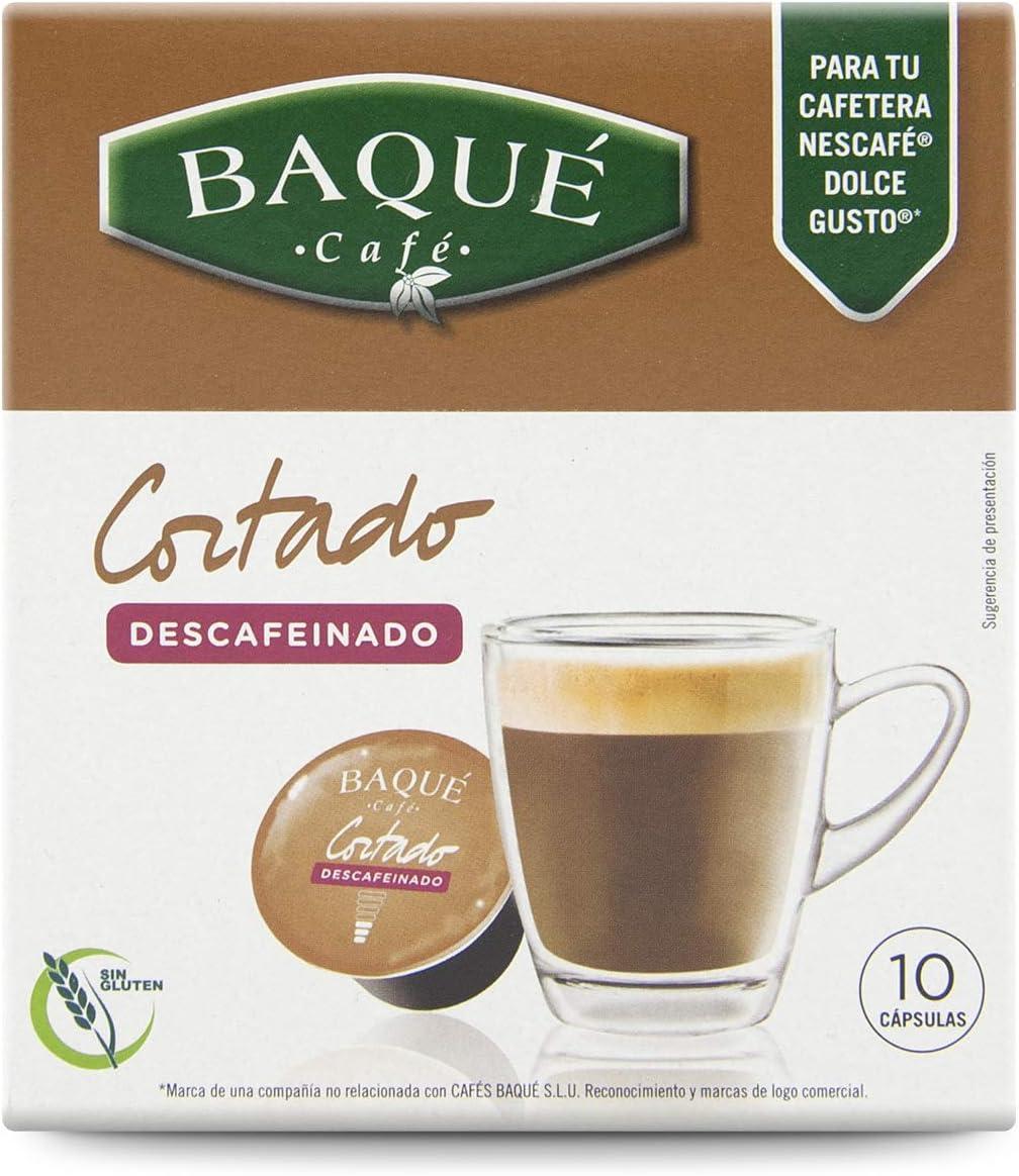 Cafés Baqué Cápsulas Compatibles Dolce Gusto Café Cortado ...