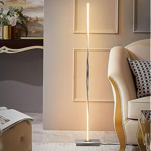 Tangkula Helix LED Floor Lamp