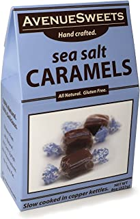 product image for AvenueSweets - Handcrafted Individually Wrapped Soft Caramels - 8 oz Box - Sea Salt