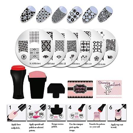 NAVSUMA Nail Stamper Kit