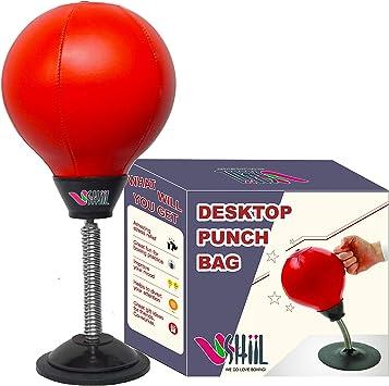 Escritorio de boxeo punching ball Super fuerte succi/ón Stress Relief bola de velocidad con bomba