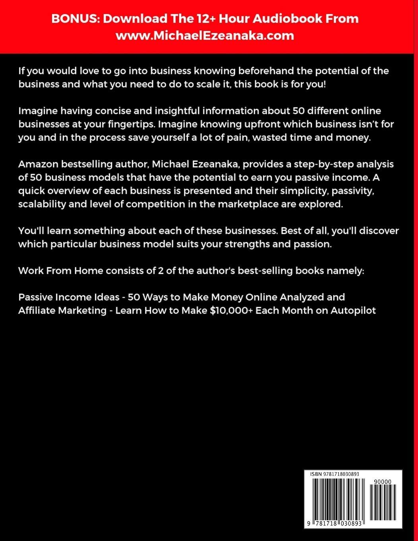 Work From Home: 50 Ways to Make Money Online Analyzed ...