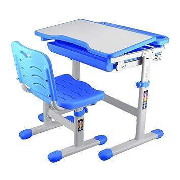 1399a52b37c1 orangea altura ajustable niños silla de escritorio y juego ajustado de 54  cm a 76 cm ...