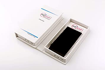 0e9d3c9cec4 Amazon.com : Best Professional R Curl Individual Eyelash Extensions Black  Color - Flat Soft Lash Extensions Natural 20 Mixed 7-15 mm Tray by WElash  (Mix R ...