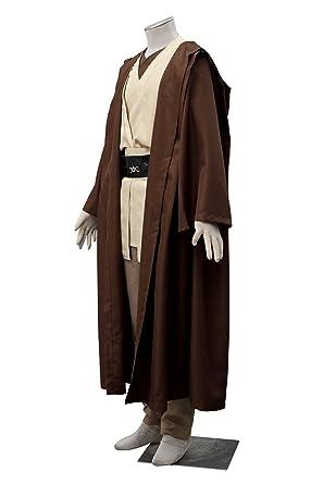 Amazon.com: CHIUS - Disfraz para Jedi Master OBI-Wan Kenobi ...
