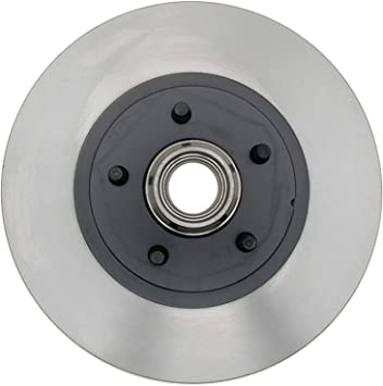 ACDelco 18A874A Advantage Non-Coated Front Disc Brake Rotor and Hub Assembly