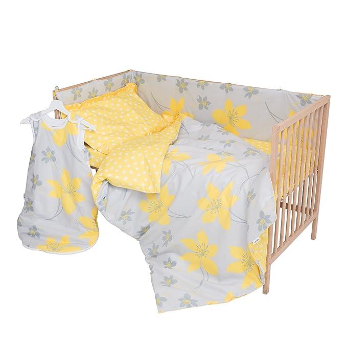 Cressida - PatiChou 100% Algodón Juego de 2 sábanas bajeras ajustables para cuna 60 x 120 cm: Amazon.es: Bebé