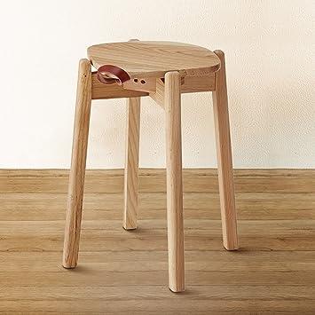 YGR Dengzi Hocker Modernen Minimalistischen Massivholz Hause Esszimmer  Hocker Make Up Hocker Kreative Hocker Nordic