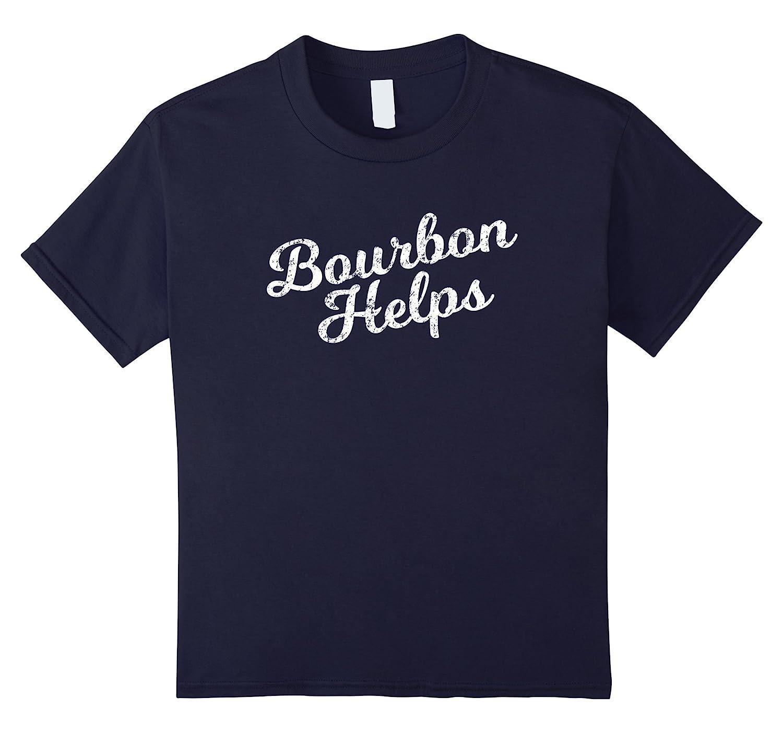 Womens Bourbon T Shirt Distressed Hopping-Awarplus
