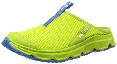 Salomon Homme RX Slide 3.0 Chaussons Sandales - Jaune (Lime Punch Lime Punch 0634f3e66e5c