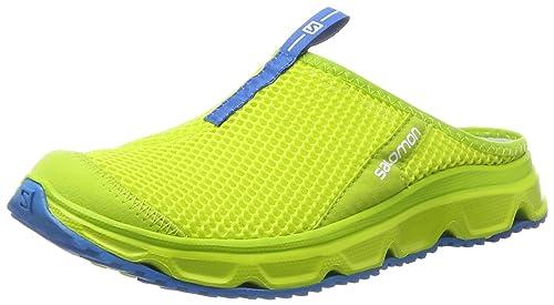 Salomon RX Slide 3.0, Zapatillas de Trail Running para Hombre, Amarillo (Lime Punch/Lime Punch/Cloisonné), 42 EU