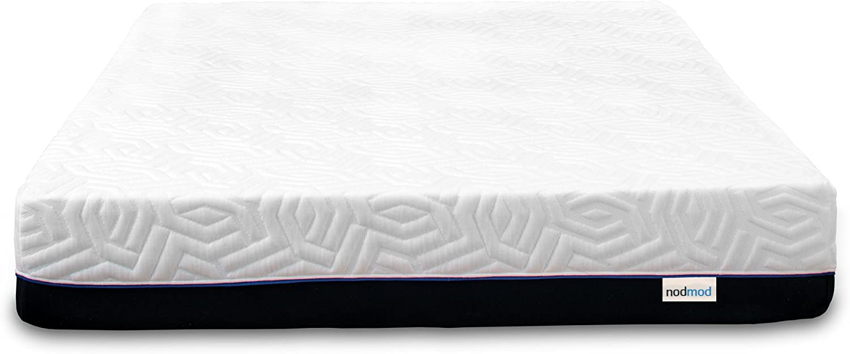 NodMod Mattresses Full 100 Made in USA 10-inch Cooling Memory Foam Mattress