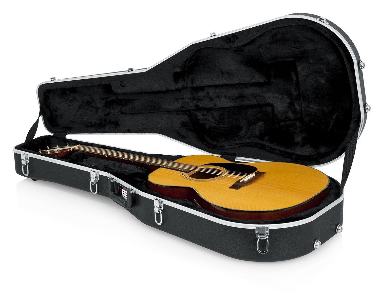 Gator Cases GC-Dread - estuches para guitarras (104,8 cm, 40,6 cm, 14 cm) Negro: Amazon.es: Instrumentos musicales