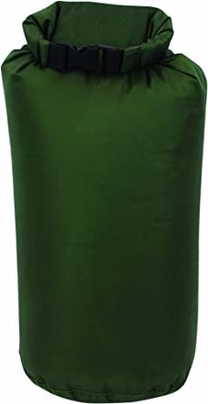Highlander - Bolsa impermeable para saco de dormir verde verde oliva Talla:large