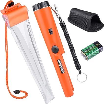 Pinpointer Metalldetektor Schatzsuche Werkzeug SummerVibration Automatische N0K4