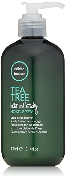 Tea Tree Hair and Body Moisturizer, 10.14 Fl Oz Best Leave-in Conditioners