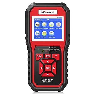 Konnwei OBD1 & 2 KW850 Oxygen Scanner