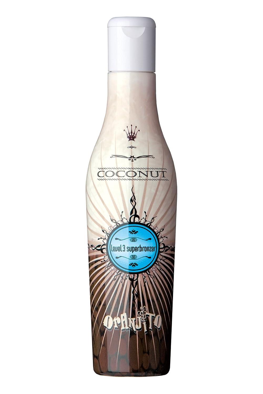Oranjito Coconut Level 3 Superbronzer Solariumkosmetik, 1er Pack (1 x 200 ml) 811