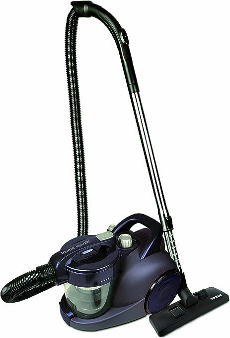 Taurus Megane 2200 - Aspirador sin bolsa, 2200W, succión 400W, depósito 2.5L, 4 niveles de filtrado hepa, válido para parquet, color azul: Amazon.es: Hogar