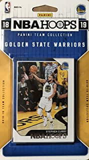 Golden State Warriors 2018 2019 Hoops Basketball Factory Sealed 9 Card NBA  Licensed Team Set with 25dda7037