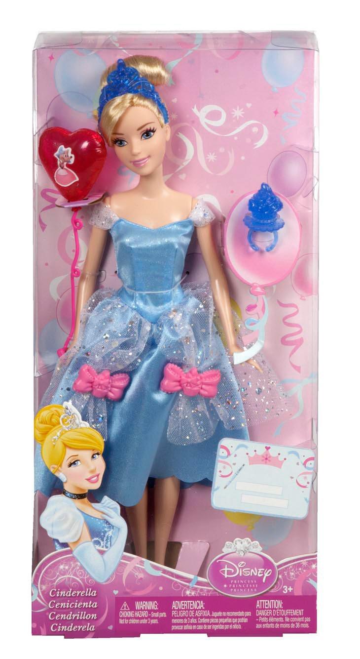 Disney Princesas Muñeca, Princesas Fiesta de cumpleaños: Ariel (Mattel X9355)
