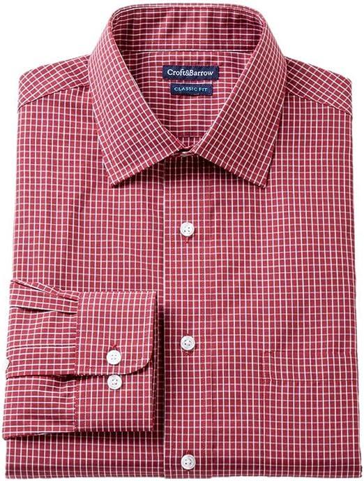 Croft/&Barrow Mens Classic Non-Iron Button Up Dress Shirt
