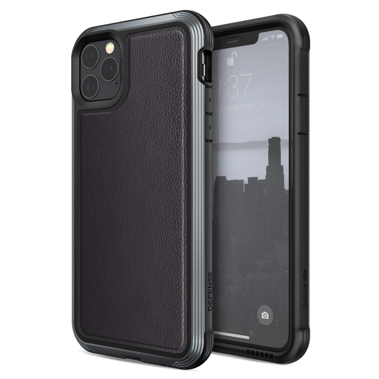 Funda Resistente Cuero Y Aluminio iPhone 11 Pro (envio Hoy)