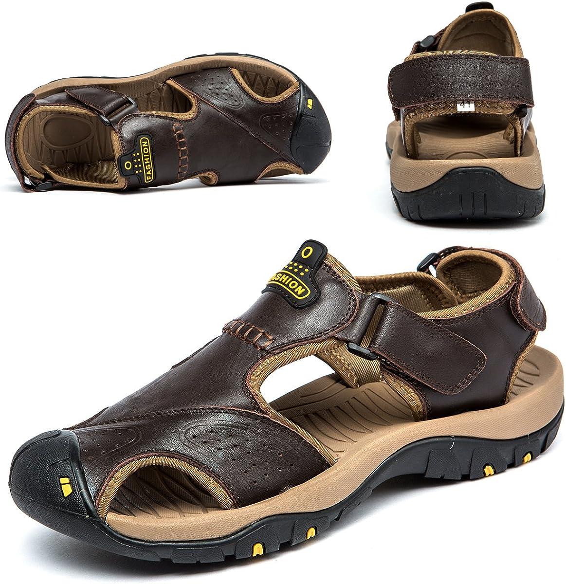 BINSHUN Sandals for Men Sports Hiking