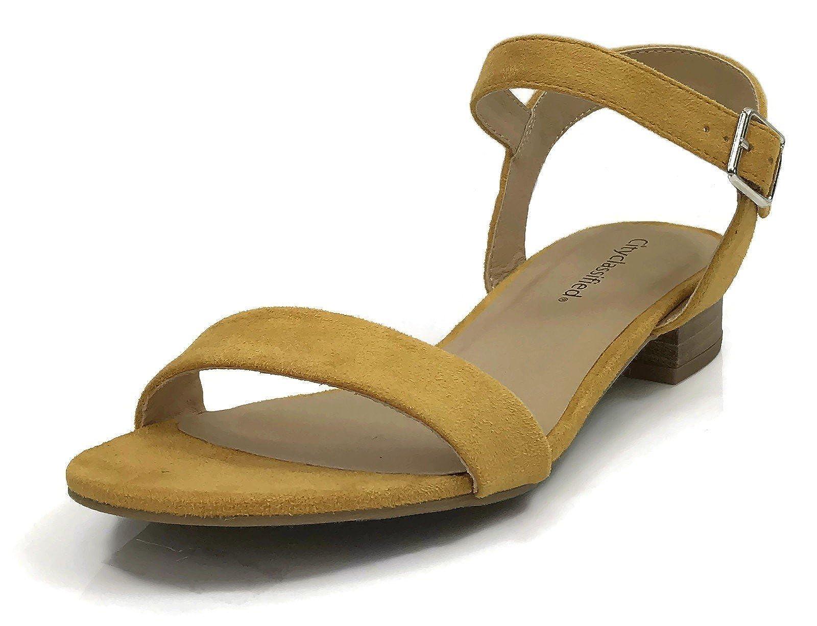 City Classified Women's Open Toe Ankle - 2