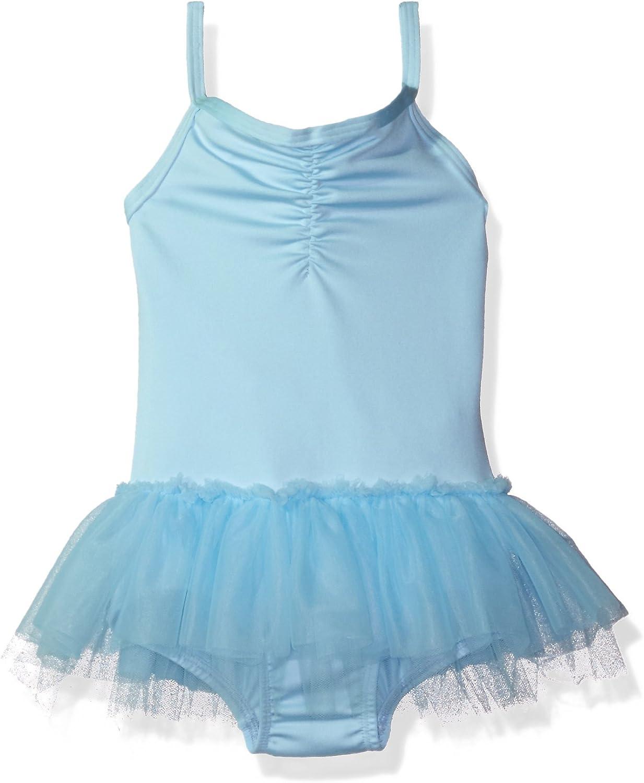 Clementine Apparel Girls Microfiber Camisole Cami Tutu Chiffon Skirt Dance Dress Leotard Ballerina Dancewear  Costume