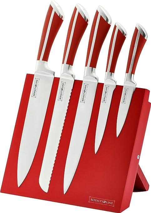 Royalty Line RL-MG5 5 piezas Juego de cuchillos de acero ...
