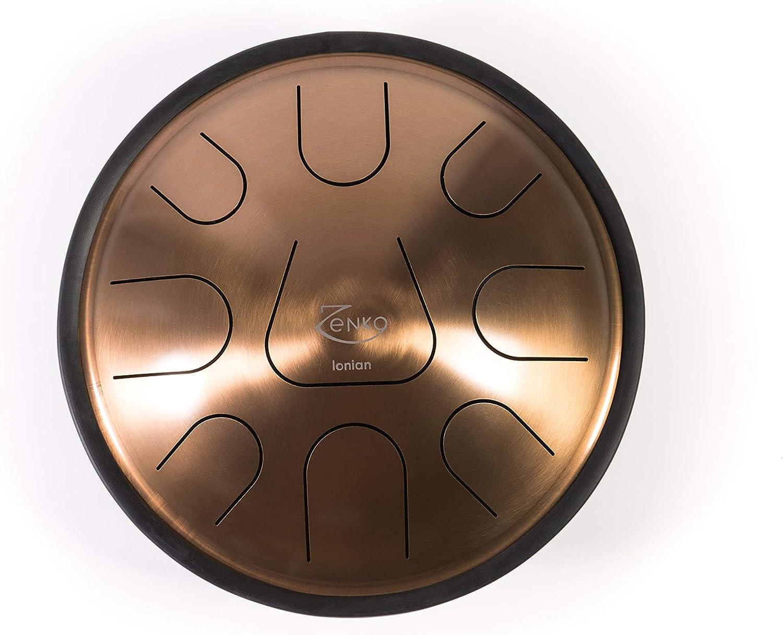 ZENKO EQUINOX - Steel Tongue Drum - 9 tones - Intuitive musical instrument