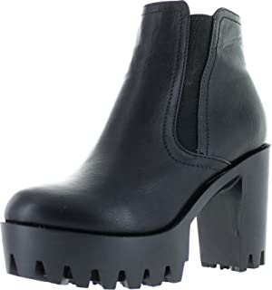 03a9d1d4b3a14 Amazon.com   Spylovebuy Yael Women's Cleated Sole Block Heel Chelsea ...