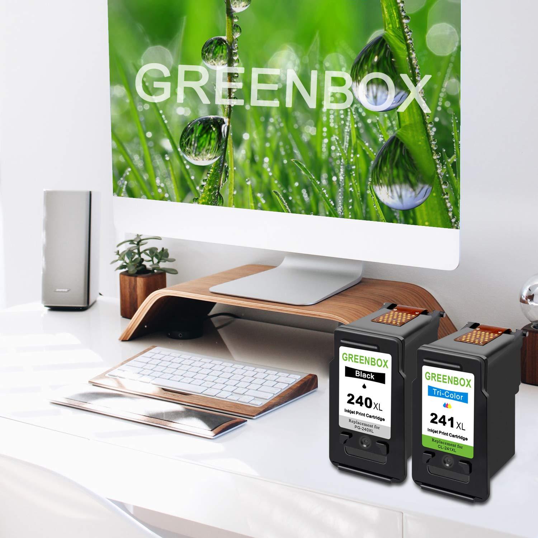 Greenbox - Cartucho de Tinta remanufacturado de Repuesto para ...