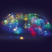 EASYmaxx Led-lichtslang 5 m - werkt op batterijen - transparant