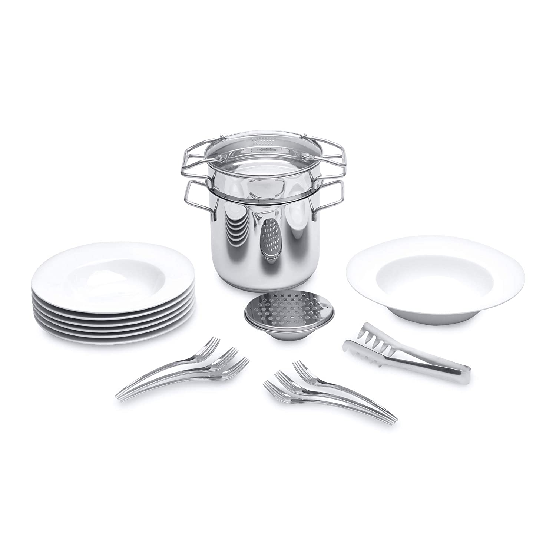 BergHOFF 20-Piece Studio Pasta Set - Silver 1100890