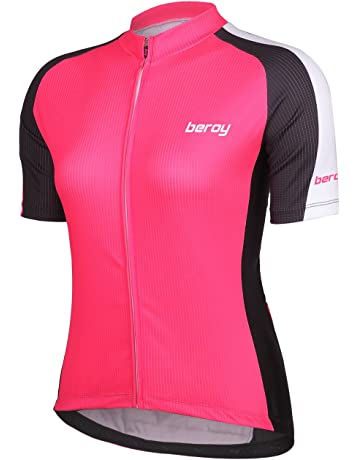Beory Womens Cycling Jerseys with Short Sleeves 3614d9331