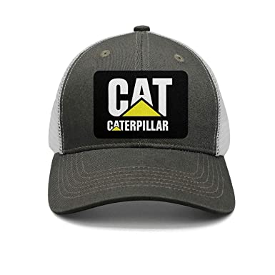 5b8a06d3b Amazon.com: CAT-Caterpillar-Logo-Womens Flat Fashion Adjustable Mesh ...