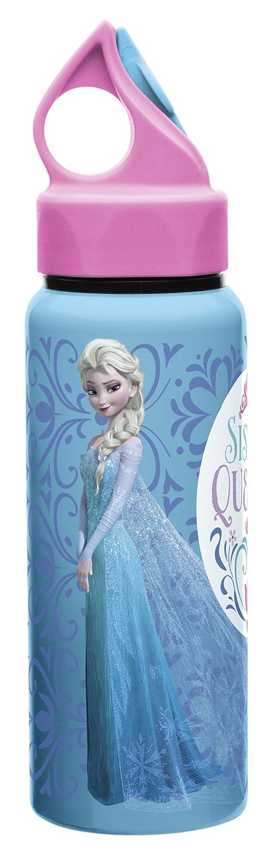 60e654d62a Amazon.com: Zak Designs Disney Frozen 17 oz. Aluminum Water Bottle, Anna &  Elsa: Kitchen & Dining