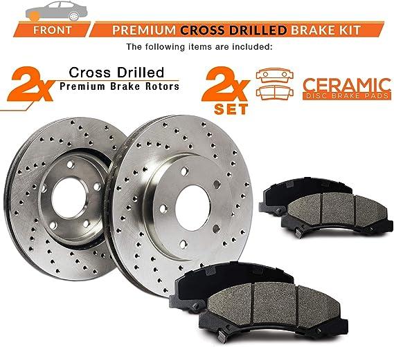 Max Brakes Carbon Ceramic Pads KT059751 Front