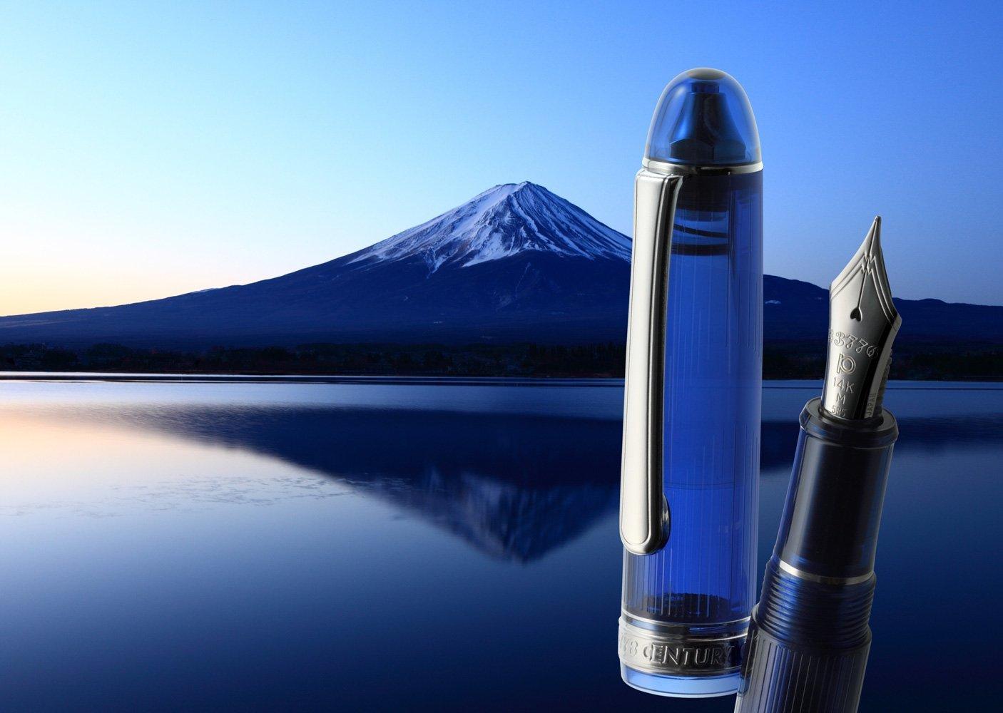 プラチナ万年筆富士山河口湖センチュリー3776