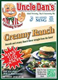 Uncle Dan's Creamy Ranch Salad Dressing, Dip and Seasoning