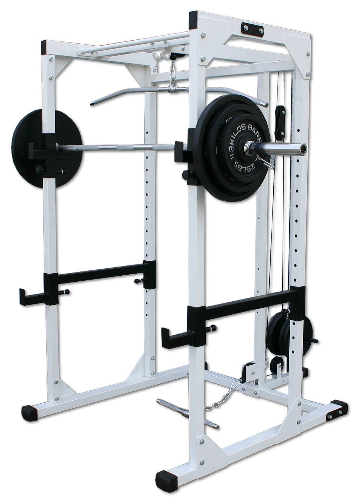 Deltech Fitness Power Rack with Lat Attachment by Deltech Fitness