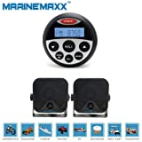 Amazon Price History for:MarineMaxx 3.5-Inch Marine Gauge USB Stereo Radio with 2 Piece Marine Speaker