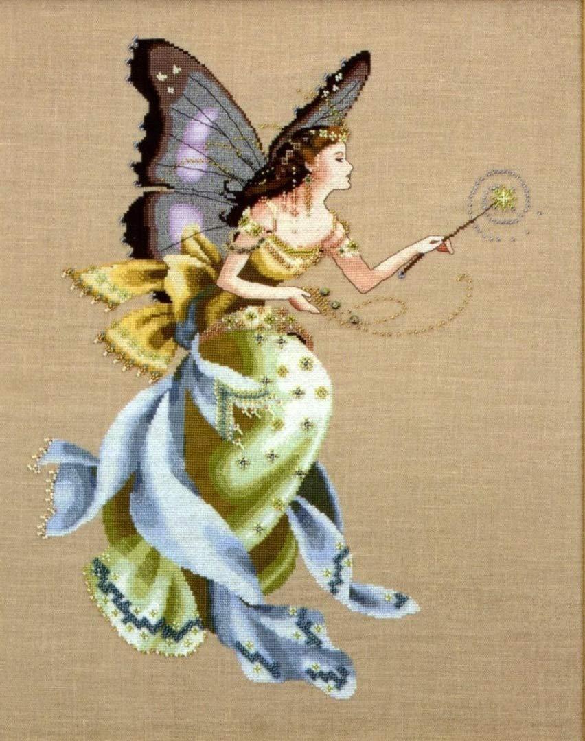 The Cross Stitch Pattern Cottage Garden Fairy