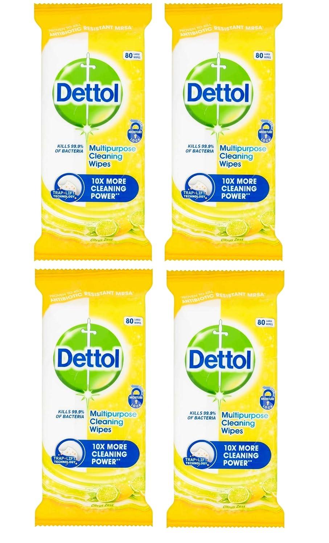 Dettol Power and Fresh Multi-Purpose Wipes Reckitt Benckiser 107199591