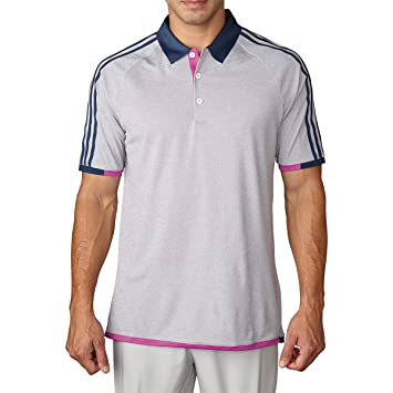 adidas Homme Climachill 3-Stripes Competition Polo à Manches Courtes L Blanc/Noir yewywr