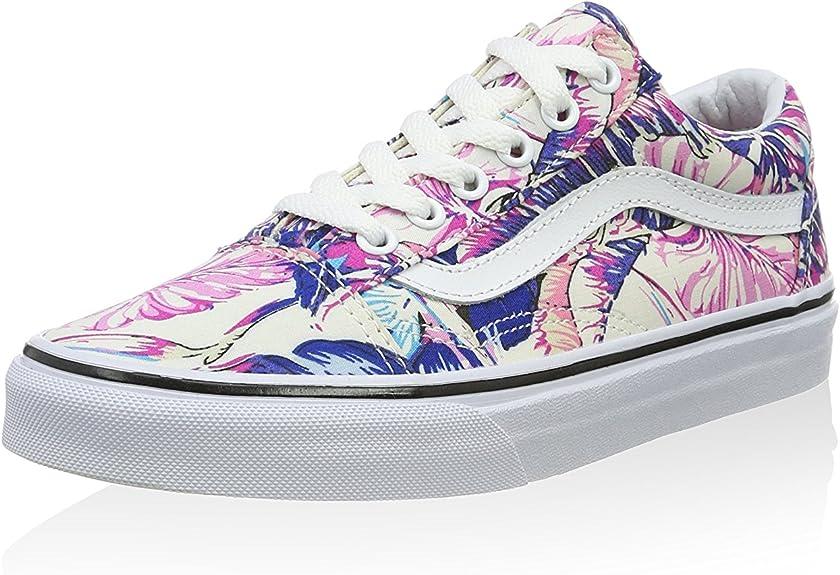 chaussures vans femme rose